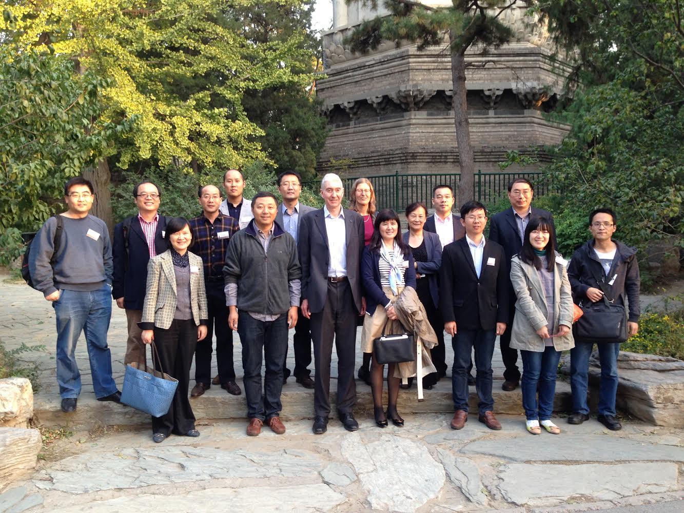 Chinese-Mann group reunion, Beijing 2014